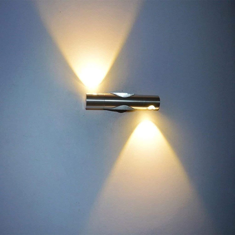 LED-Wandleuchten moderne, minimalistische als double als Aluminium Kopf Crystal für die deation des Cafés kreative ridor Nacht Tischleuchte Persnlichkeit der Verschraubung