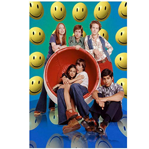 Carteles e Impresiones Hot Custom That '70s Show Classic TV Series Show Art Poster Canvas Painting Home Decor-50x70cm Sin Marco