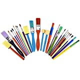 Artlicious - All Purpose Kids' Paint Brush Set (25 Brushes)...
