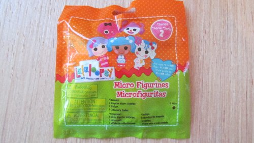 Lalaloopsy 513919M - Überraschungsbeutel Serie 2 inkl. 1 Micro Figur, 1 Sticker, 1 Collector´s Poster
