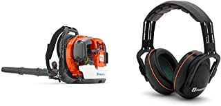Husqvarna 360BT 65.6cc Professional Backpack Blower with Professional Headband Hearing Protector
