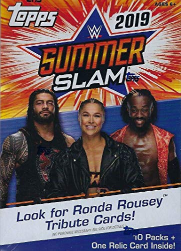 Topps 2019 WWE SummerSlam Wrestling Retail Blaster Box