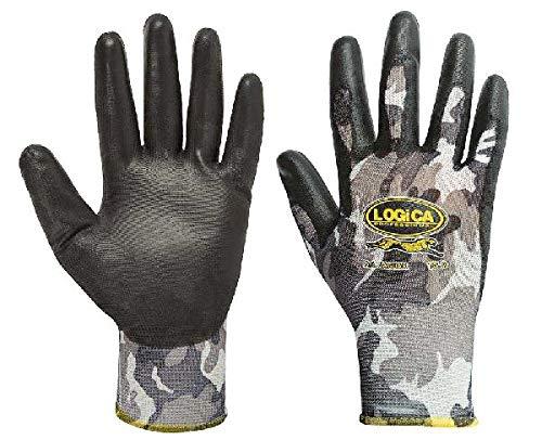 Handschoenen camouflage nylon zwart P/shirt Mis.10