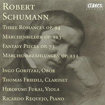 R. Schumann : Three Romances Op. 94 - Märchenbilder Op. 113 - Fantasy Pieces Op. 73 - Märchenerzählungen Op. 132