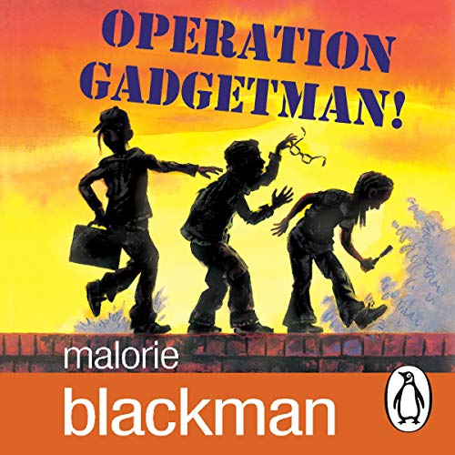 Operation Gadgetman!  By  cover art