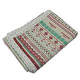 Mantel Rectangular Mantel, rectángulo de tela de mesa de algodón de lino de algodón manteles de manteles for comer rectángulo / oblongo Mantel Escritorio ( Color : P34 , Specification : 100x150cm )