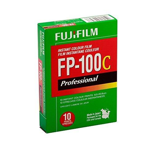 富士ps - 100c 3.25 X 4.25英寸专业即时彩色胶片