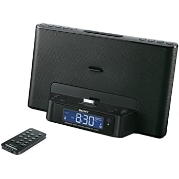 Sony ICFCS15IP 30-Pin iPod/iPhone Speaker Dock (Black) (Discontinued by Manufacturer)