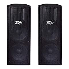 2 way trapezoidal sound reinforcement enclosure 700 watts of power program handling, 1400 watts maximum 2 15 inch premium, 2 3/8 inch voice coil woofers RX14 compression driver with a 1.4 inch titanium diaphragm 1 inch exit 90 x 40 constant directivi...