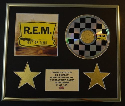R.E.M./CD-Darstellung/Limitierte Edition/COA/OUT OF TIME