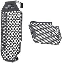 Evotech Performance Oil Cooler Guard & Rectifier Guard Kit to fit Ducati Scrambler. PRN012252-012254