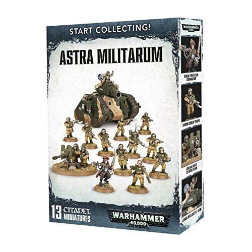 Games Workshop 99120105068 Start Collecting Astra Militarum Miniature