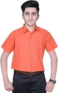 khadi vastra Mens Formal Khadi Half Sleeve Shirts
