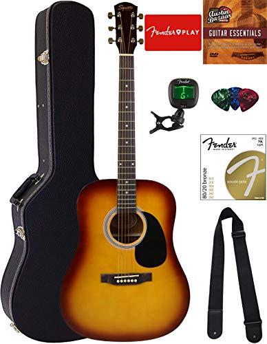 Fender Squier Dreadnought Acoustic Guitar - Sunburst...