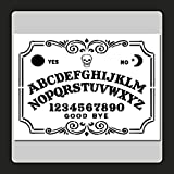 9 X 12 inch Decorative Ouija/Spirit Board Face Stencil Template Skull/Supernatural/Ghost/Halloween