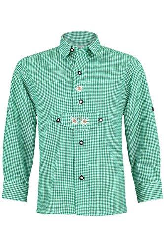 Isar-Trachten Isar-Trachten Jungen Trachten Kinderhemd grün, grün, 104
