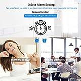 Immagine 1 homvilla sveglia digitale orologio da