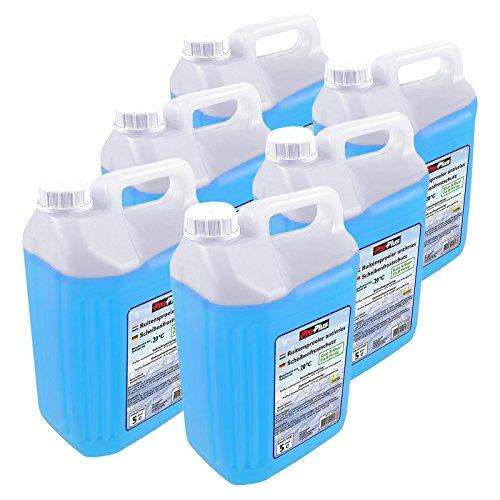 ProPlus Scheibenfrostschutz gebrauchsfertig 6X 5 Liter bis -20 Grad