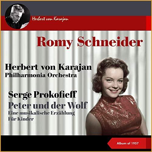 Romy Schneider, Philharmonia Orchestra & Herbert von Karajan