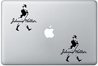Johnnie Walker Whiskey Alcohol FlashDecals2794 Set Of Two (2x) , Decal , Sticker , Laptop , Ipad , Car , Truck