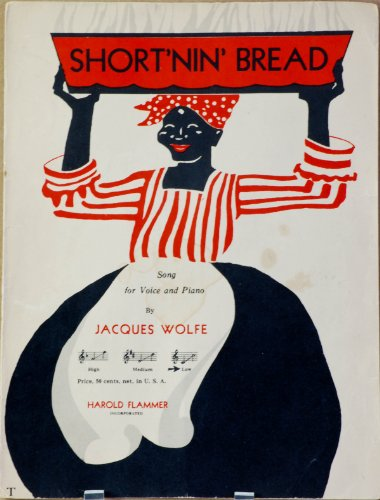 1928 - Short\'nin\' Bread - Sheet Music - By Jacques Wolfe - Published By Harold Flammer - OOP - Very Rare - Song for Voice & Piano - Collectible