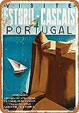 Portugal Metall Blechschild Retro Metall gemalt Kunst