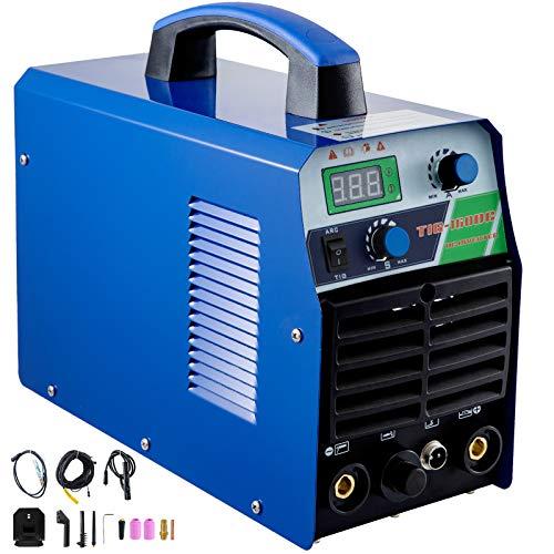 Mophorn Tig Welder 160 Amp Tig Stick Welder 110V 220V Dual Voltage Portable Tig...