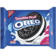 Oreo Double Stuff Chocolate Sandwich Cookie, 15.35-Ounce (Pack of 4)