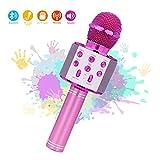 Micrófono Inalámbrico Karaoke Bluetooth,Micrófono Karaoke Portátil para...