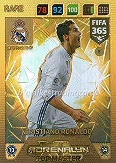 FIFA 365 2018 - CRISTIANO RONALDO TOP MASTER CARD RARE PANINI ADRENAYLN XL
