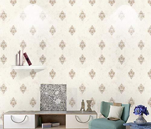 Mddjj Vliestapete Vintage Athen Schlafzimmer Wohnzimmer UmweltschutzNostalgieFeindruck VliestapeteKaffee Farbe