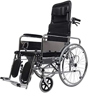 Folding Self Propel Wheelchair£¬Extended Backrest Can Be Used As a Nursing Bed with a Toilet Function Heavy