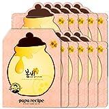 Papa Recipe Bombee Rose Gold Honey Mask Pack 5 sheets. Korean skin care, facial skin care sheet mask, deep Moisturizing for dry skin