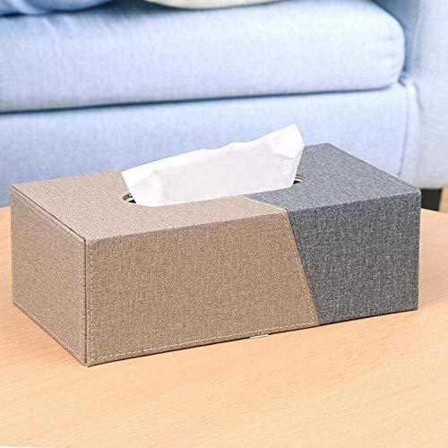 HYY-YY Caja de pañuelos de papel para el hogar o la sala de estar, sencilla y bonita, caja de papel creativa para el hogar