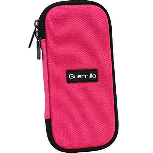 Guerrilla Hard Travel Case for TI-30X llS, TI BA ll Plus, TI-34 Multi View, TI-36X Pro, TI BA ll Plus Professional, and TI-30XS multi view Calculators, Pink