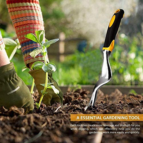 Hand Weeder Tool for Garden,Weeding Tools with Ergonomic Handle Easy for Weed Removel,Manual Weed Puller Bend for Garden Lawn Yard