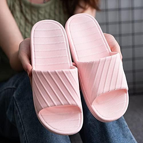 Kirin-1 Ciabatte da Mare Uomo Donna,Bagno Antiscivolo Soft Bottom Home Shoes Summer Home Sandali Sandali Pantofole-36-37_Khaki Dark.