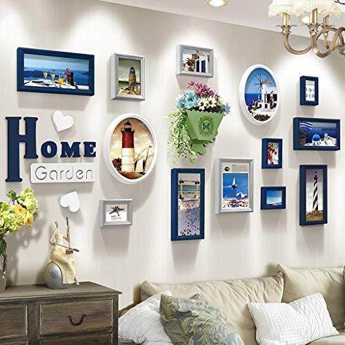 Jjek Fotoalbum Muur, Klassiek Foto Ontwerp Houten Letter Sofa Achtergrond Decoratie Ontwerp (103x200) (kleur: C) A