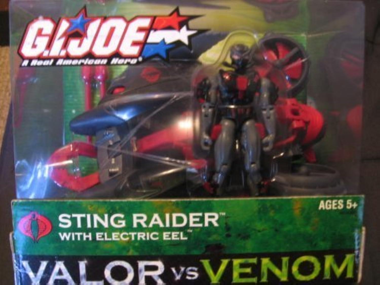 Valor Vs. Venom Sting Raider with Electric Eel