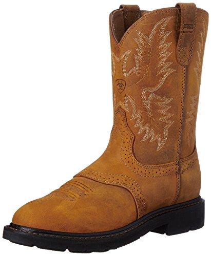 Ariat Men's Sierra Saddle Work Boot, Aged Bark, 10.5 EE US
