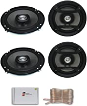 """4 x Pioneer TS-F1634R 6.5"""" 2-Way car Audio coaxial Speakers 200 watts Max DiscountCentralOnline 25ft Speakers Wire photo"""