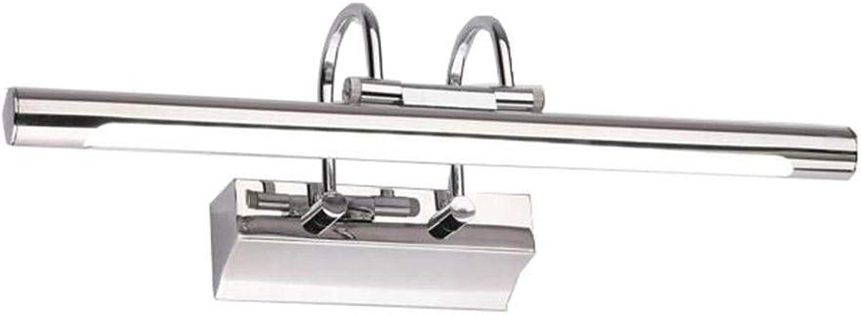LED Anti-fog Rostfrei Continental moderne Spiegel Vordere Scheinwerfer, Ankleidezimmer, Badezimmer Spiegel Beleuchtung vorn (Gre  S)