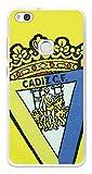 BeCool Funda Gel Flexible Cádiz C.F. para Huawei P10 Lite - Carcasa TPU Licencia Oficial Cádiz C.F. Escudo1