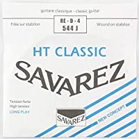 SAVAREZ 544J ALLIANCE High tension クラシックギター弦 4弦 バラ弦