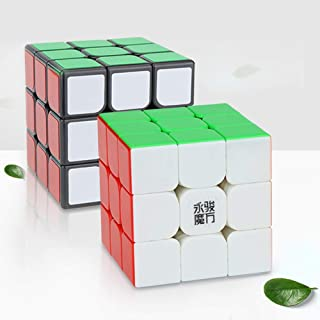 RONSHIN Rubik Smooth Speed Cube 3x3 Magnetic Magic Cube 5.6cm