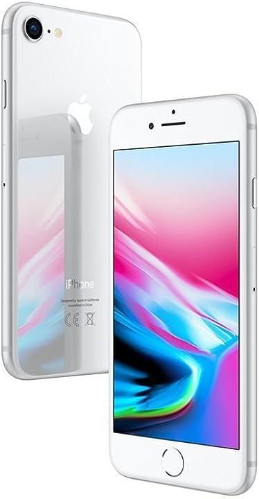 Iphone 8 apple 64gb argento (ricondizionato)