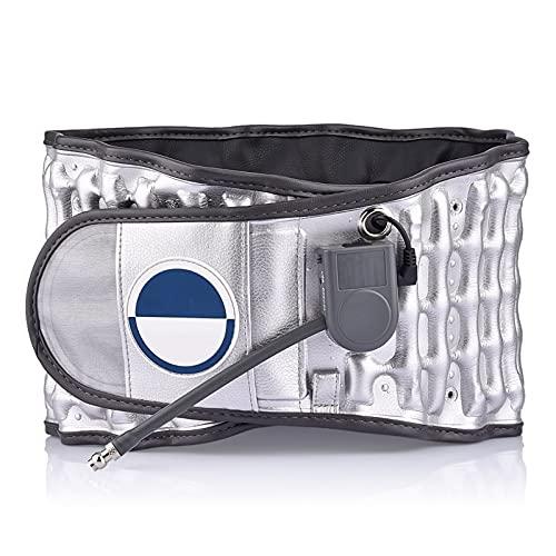 JuZi Store Lumbar Support Belt Decompression Back Belt Lower Back Brace Back Pain for Men Women,with Cushion Pad Back Belt Adjustable Spinal Waist Back Air Massage Belt
