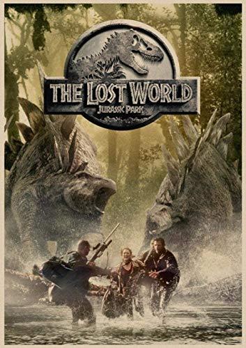 Desconocido Retro Puzzle World Adultos Puzzles Dinosaur World Puzzle 1000 Piezas Puzzle de Alta dificultad Juego de Ocio Toy X