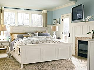 Universal Furniture Summer Hill Complete 5/0 Panel Bed, Queen, Cotton