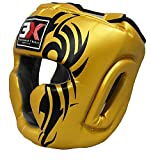 3X Scelta Professionale per Bambini Copricapo Boxe Copricapo MMA Sparring Protezione Casco...